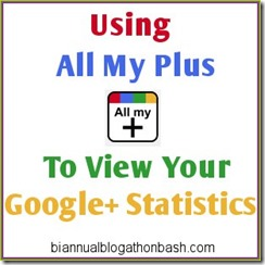All My Plus Google Plus Statistics