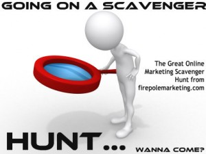The Online Marketing Scavenger Hunt from Firepole Marketing
