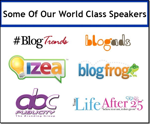 Online Blog Conference Speakers