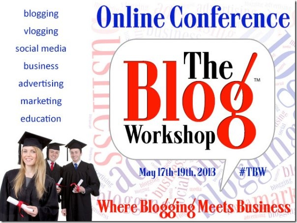 The Blog Workshop Online Blog Conference