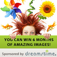 Dreamstime.com is Our Grand Prize Sponsor