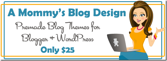A Mommy's Blog Design Premade Blog Themes