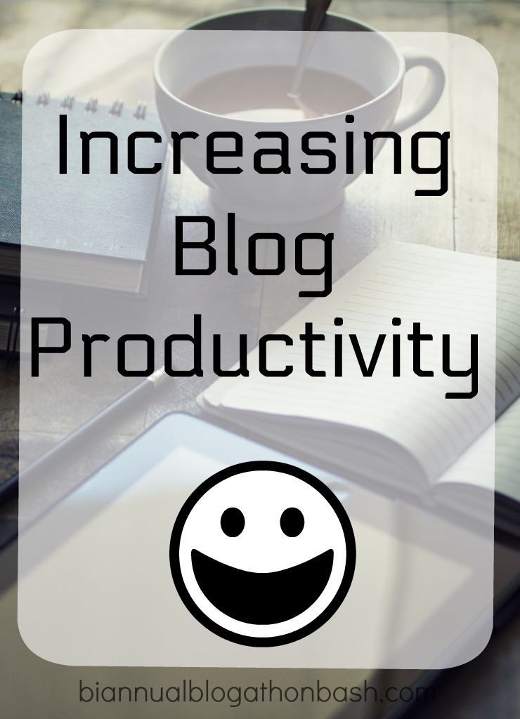 Increasing Blog Productivity