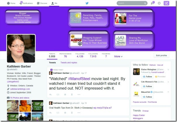 New Twitter Layout - What You Need to Know | Biannual Blogathon Bash