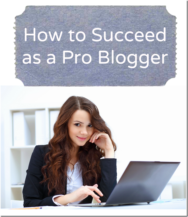 How to Succeed as a Pro Blogger