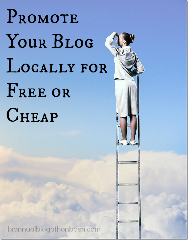 Promote Your Blog Locally for Free or Cheap