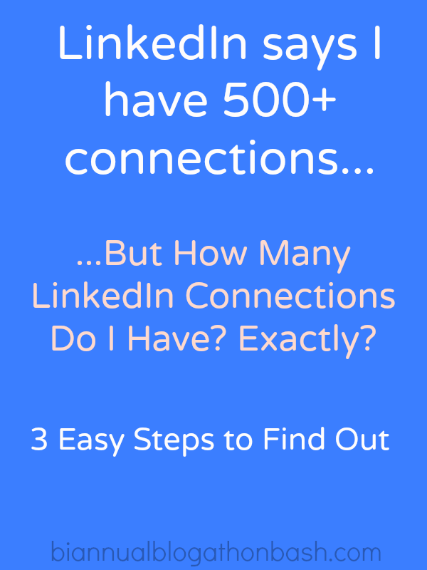 How Many LinkedIn Connections Do I Have?