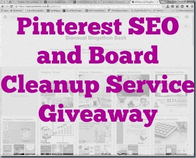 Pinterest SEO and Board Cleanup - WW - 7/17