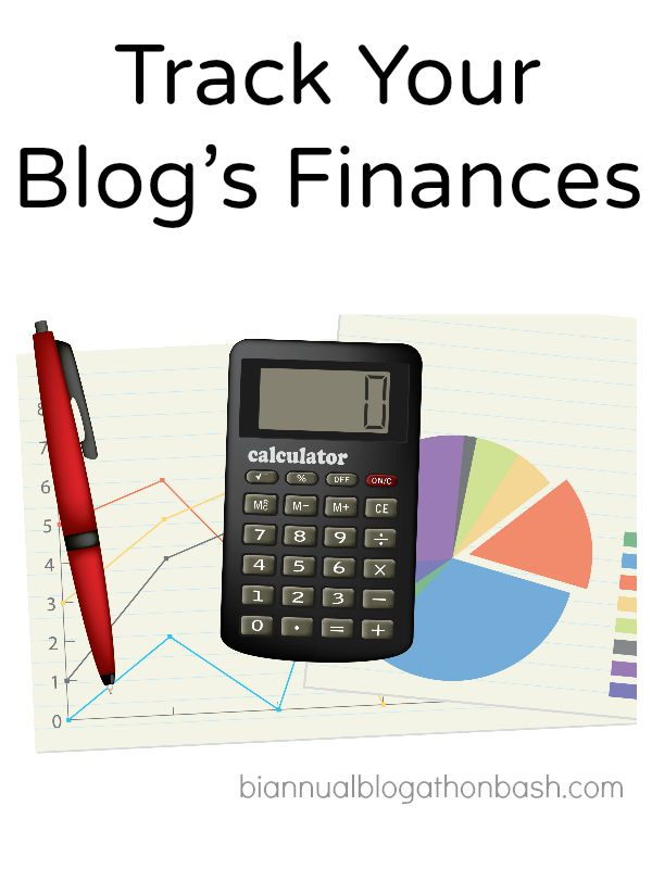 Track Your Blogs Finances