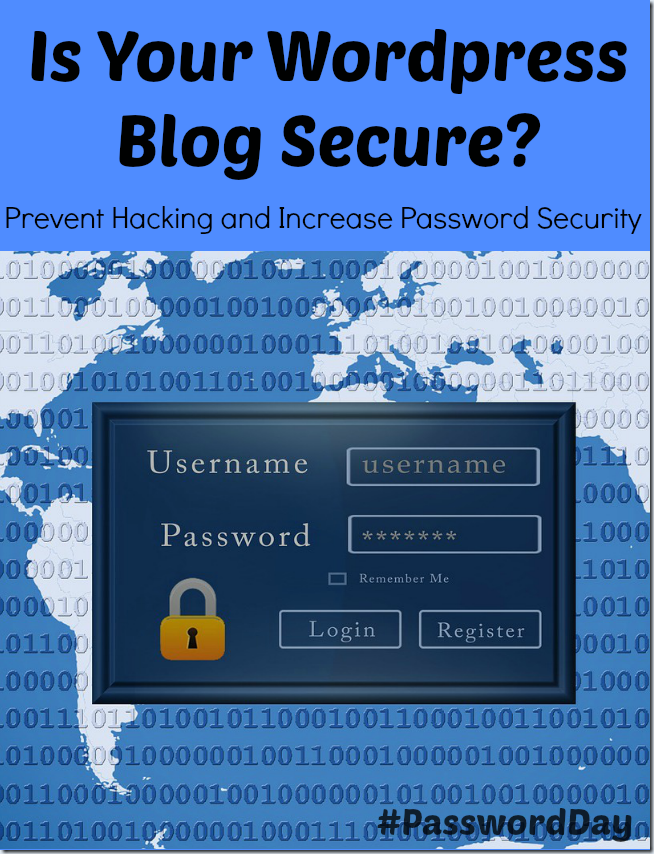 Tips on WordPress Blog Security - World Password Day