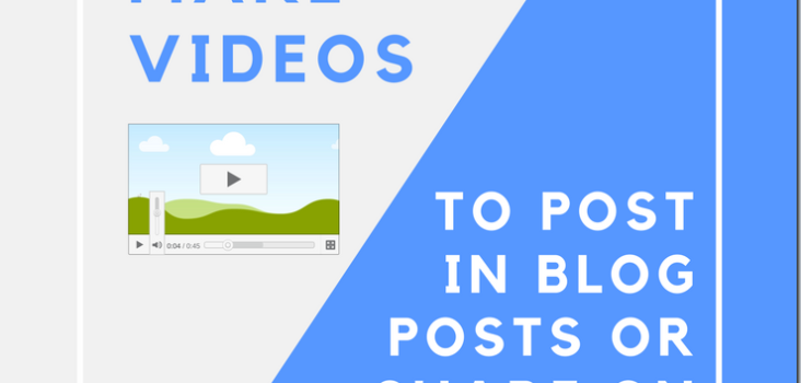 How to Easily Make Videos to Post On Your Blog or Share on Social Media Using Lumen5